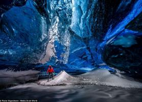 غارهای یخی شگفت انگیز