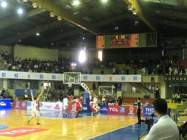 برد ارزشمند بسکتبال ایران برابر فیلیپین