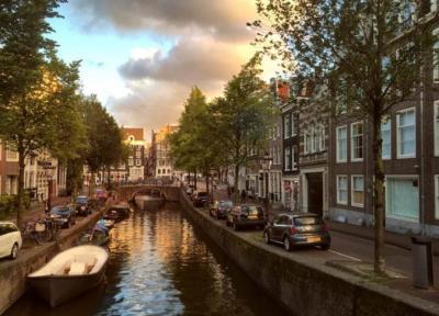 آشنایی با کانال های آبی آمستردام هلند