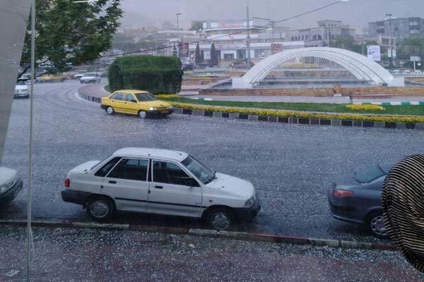 تشدید سامانه بارشی از دوشنبه، هوای آذربایجان غربی برفی می گردد