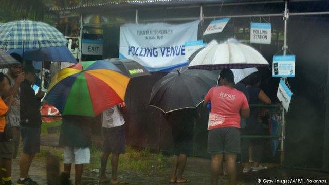 دومین انتخابات فیجی و پیشتازی حزب نخست وزیر 12 ساله