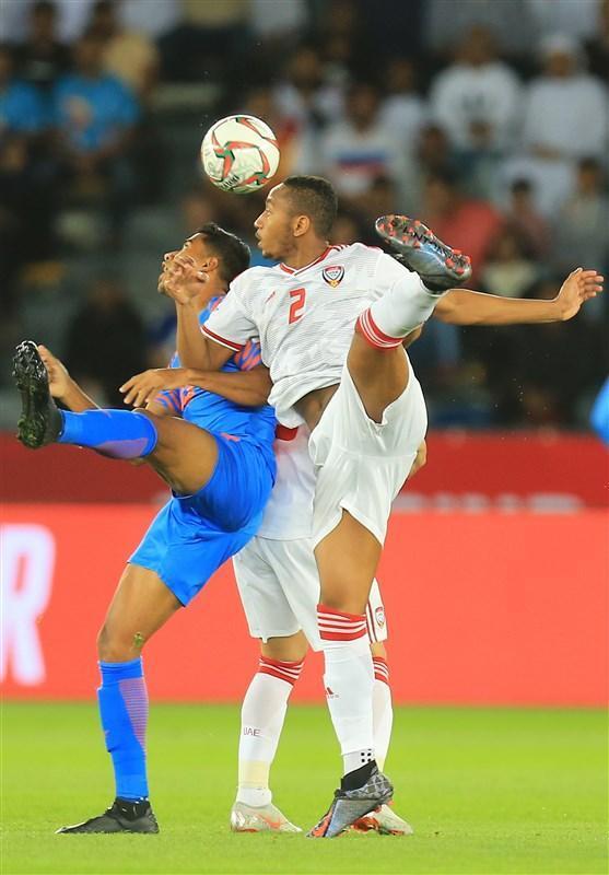 جام ملت های آسیا، پیروزی یک نیمه ای امارات مقابل هند