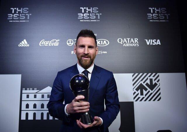مسی با کنار زدن فان دایک و رونالدو بهترین بازیکن سال دنیا شد