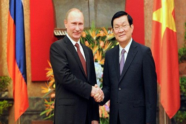 تجارت و سرمایه گذاری محور رایزنی های رؤسای جمهور ویتنام و روسیه