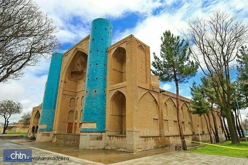 ادامه مرمت باغ مزار شیخ شهاب الدین اهری در آذربایجان شرقی