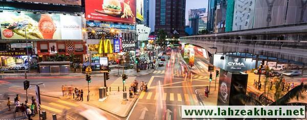 مناطق و محله های کوالالامپور مالزی
