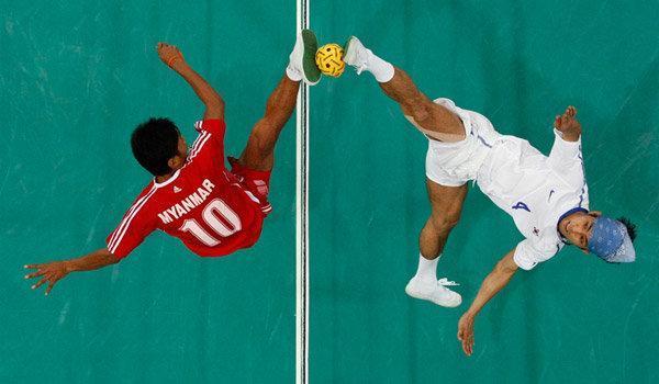 سپک تاکرا و پاراگلایدینگ ایران در بازی های آسیایی جاکارتا