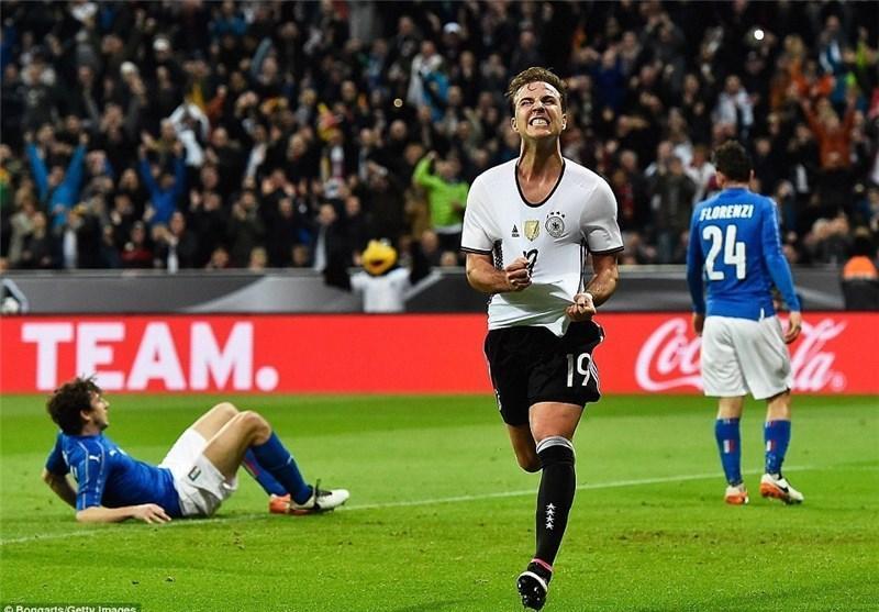 رجحان پرگل آلمان مقابل ایتالیا و شکست خانگی انگلیس، فرانسه و پرتغال به پیروزی رسیدند