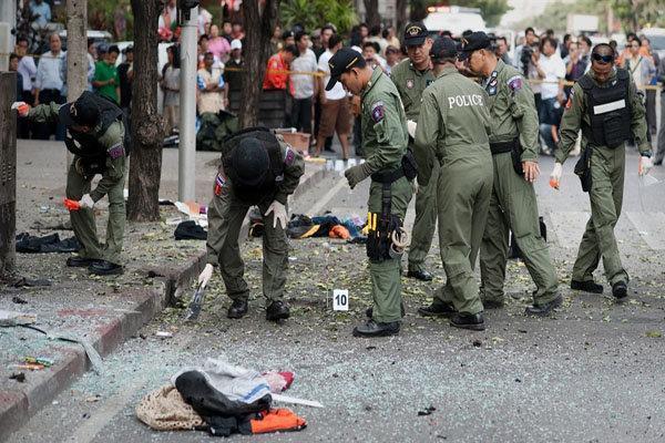 وقوع یک انفجار دیگر در بانکوک