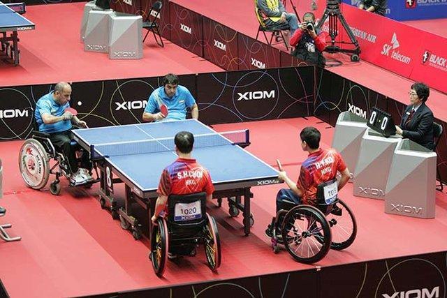 آرمندنیا: تیم تنیس روی میز معلولان به چین اعزام می گردد