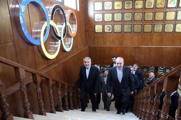 بررسی محورهای مجمع عمومی کمیته ملی المپیک در هیات اجرایی