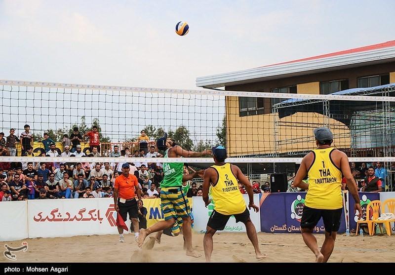 تاریخ برگزاری مسابقات والیبال ساحلی قهرمانی آسیا تغییر کرد