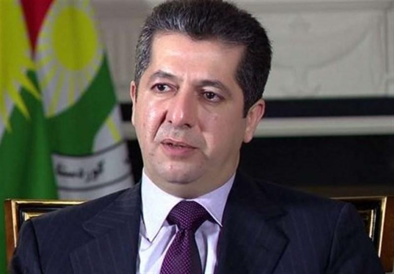 سفر نخست وزیر اقلیم کردستان عراق به اردن