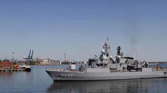 ترکیه کشتی تسلیحات را تا ساحل لیبی اسکورت کرد