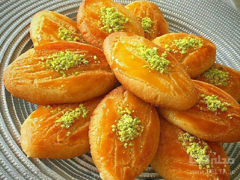 طرز تهیه شیرینی شکر پاره برای عید