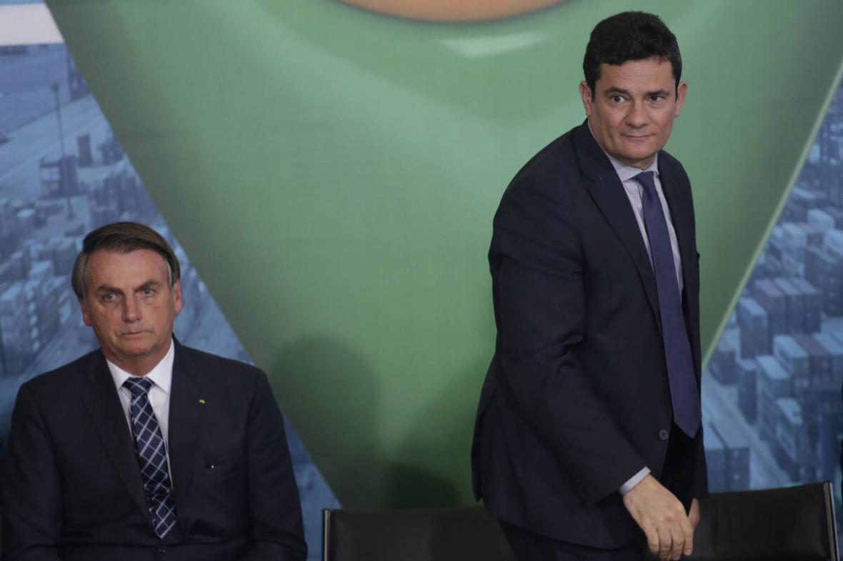 خبرنگاران وزیر دادگستری برزیل در اعتراض به سیاست های بولسونارو استعفا کرد