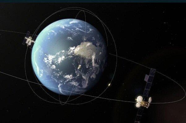 عبور یک سیارک از نزدیکی چند ماهواره مخابراتی