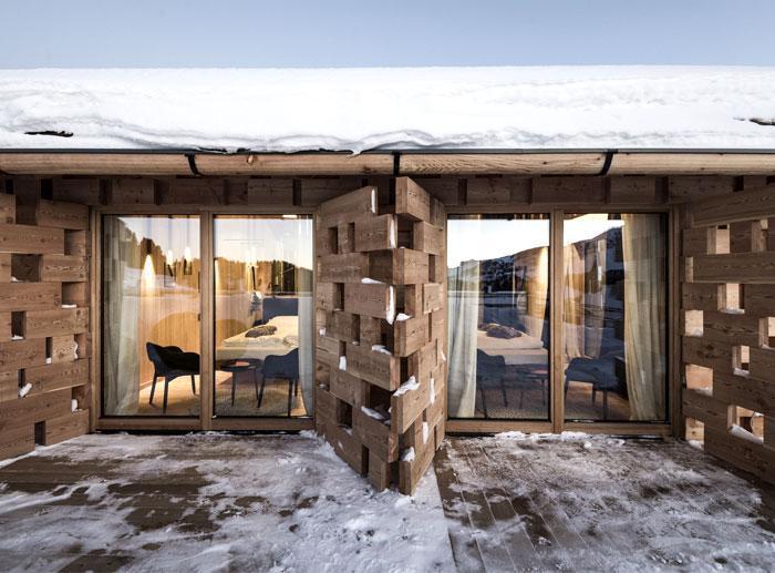 طراحی کلبه با چوب