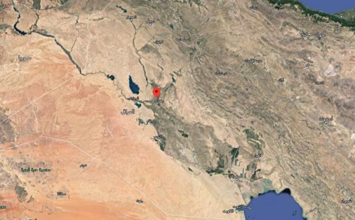 خبرنگاران هواپیمای ائتلاف بین المللی در پایگاه التاجی عراق سقوط کرد