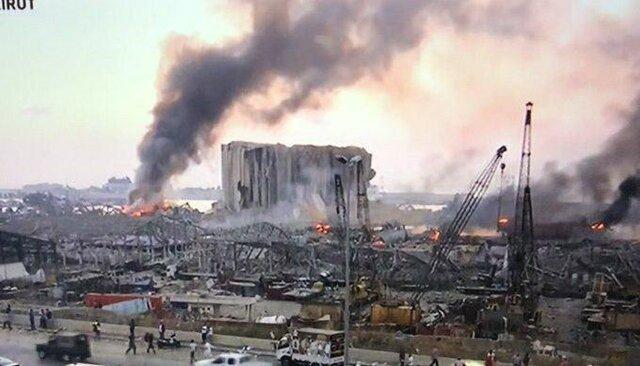 کویت بازسازی سیلوی گندم در بندر بیروت را برعهده می گیرد