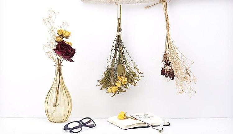 10 روش خشک کردن گل طبیعی عالی و بدون پلاسیدگی