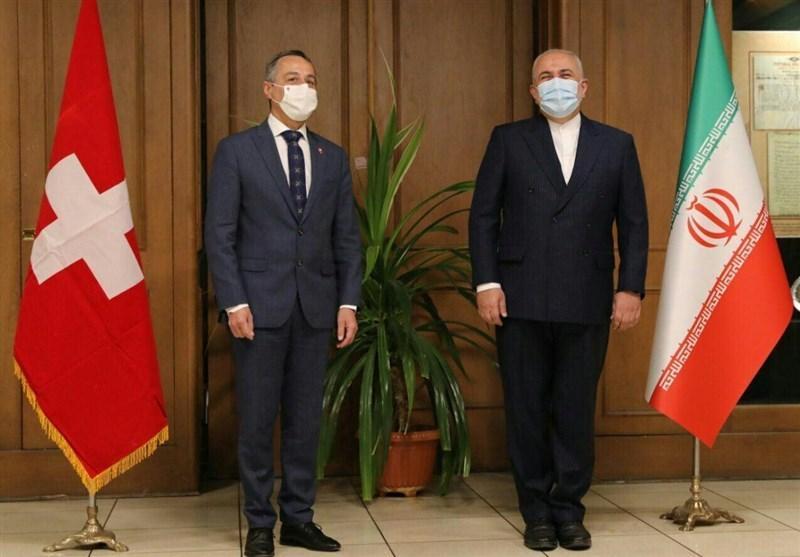ظریف: از کوشش های سوئیس برای کاستن از آثار خرابکاری آمریکا تشکر می کنیم