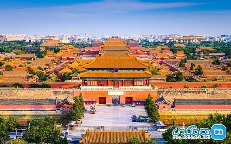 شهر ممنوعه پکن؛ مجموعه ای از قصرهای قدیمی چوبی