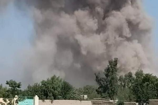 وقوع انفجار در منطقه خیرخانه شهر کابل