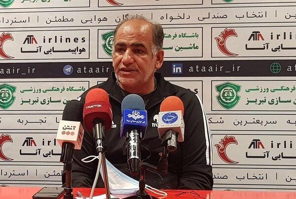 تراکتور تیم برتر دربی تبریز بود، همه تیم ها مشکل گلزنی دارند