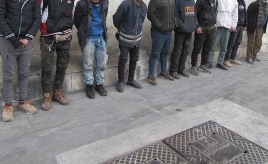 دستگیری 39 دزد در شهرستان رشت