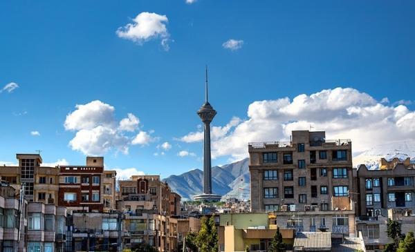 شاخص کیفیت هوای تهران امروز پنجشنبه 23 بهمن 99