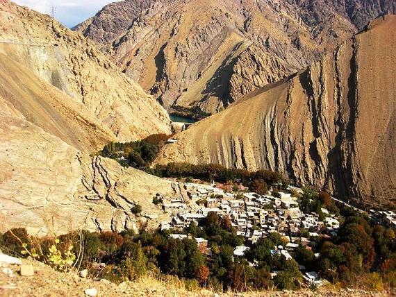 روستای سرسبز خوزنکلا در کرج