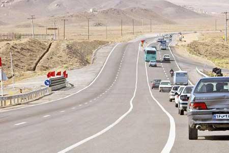 13 جاده مسدود است ، بیشترین تردد جاده ای بین ساعات 18 تا 19