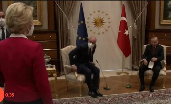 سوفاگیت؛ تحقیر رئیس کمیسیون اروپا در ترکیه