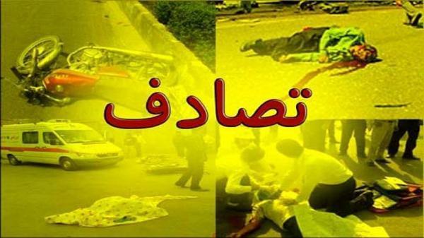 تصادف در جاده بیرانشهر-خرم آباد 5 کشته و یک زخمی به جای گذاشت