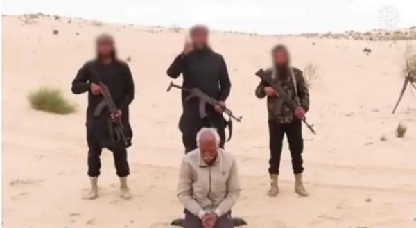 داعش سه شهروند مصری از جمله یک کشیش را تیرباران کرد