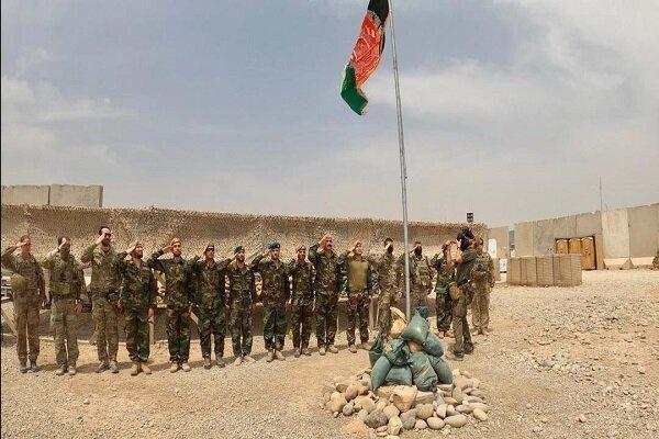یک پایگاه نظامیان تروریست آمریکایی به نیروهای افغانستان واگذار شد
