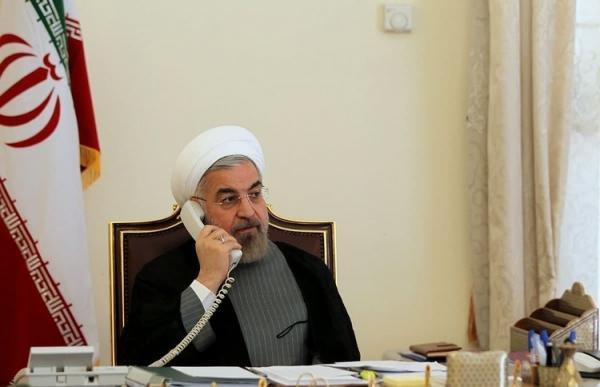 تماس تلفنی روحانی با اشرف غنی