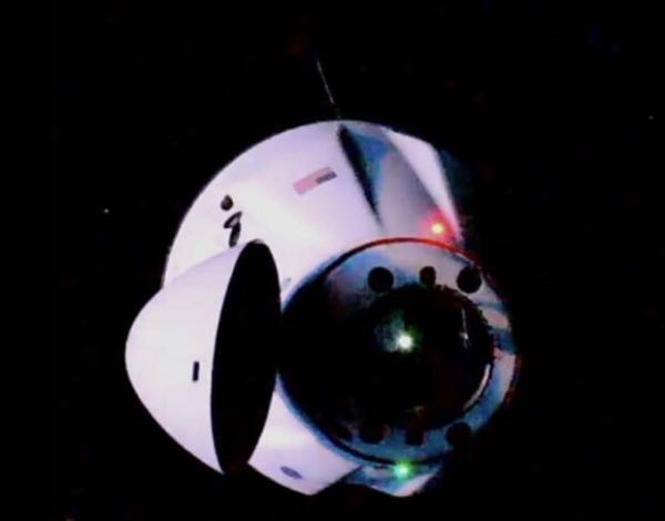 کپسول اسپیس ایکس به ایستگاه فضایی بین المللی رسید