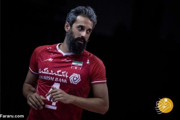 یک ایرانی، محبوب ترین والیبالیست اینستاگرام