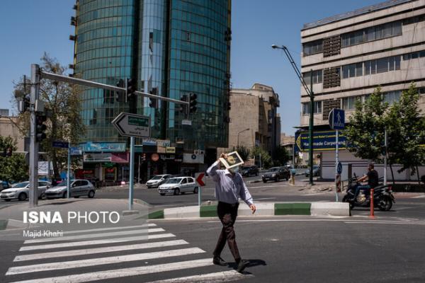 افزایش نسبی دمای هوای استان تهران، کاهش کیفیت هوای مرکز طی امروز