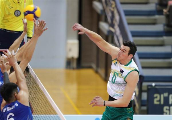 تور استرالیا ارزان: والیبال قهرمان آسیا، استرالیا و کره پیروز شدند، بحرین یک ست از ژاپن گرفت