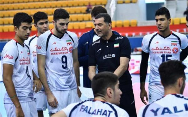 تور اروپا: والیبال قهرمانی جوانان دنیا؛ نایب قهرمان اروپا اولین حریف ایران